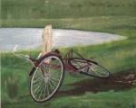 Obras de arte:  : Argentina : Buenos_Aires : san_antonio_de_areco : Un descanso en el camino