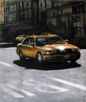 Obras de arte: Europa : Italia : Lazio : Roma : NYC taxi