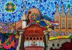 Obras de arte: Europa : España : Catalunya_Barcelona : Castelldefels : Gaudí - mi composición