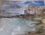 Obras de arte: America : Chile : Region_Metropolitana-Santiago : Macul : playa