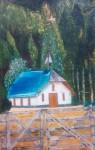 Obras de arte:  : Argentina : Rio__Negro : Cipolletti : Capilla San Jorge