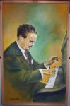 Obras de arte:  : Chile : Maule :  : Claudio Arrau   Pianista Chileno