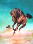 Obras de arte:  : Chile : Maule :  : Furia  Caballo Arabe