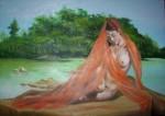 Obras de arte:  : Chile : Maule :  : modelo en la Isla