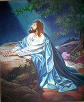 Obras de arte:  : Chile : Maule :  : Jesus de Nasaret en Oracion