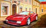 Obras de arte:  : Chile : Maule :  : Copia de automovil  Ferrari 1947