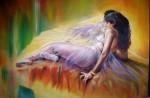Obras de arte:  : Chile : Maule :  : Linda Modelo Reposando