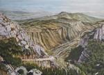 Obras de arte: Europa : España : Euskadi_Bizkaia : Bilbao : DESDE EL M.DE MONSERRAT.