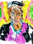 Obras de arte: Europa : España : Valencia : Ontinyent : mujer
