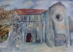 Obras de arte:  : España : Galicia_Pontevedra : Redondela : Mosteiro de Carboeiro