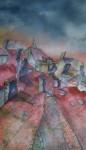 Obras de arte:  : España : Galicia_Pontevedra : Redondela : As chemineas de Compostela