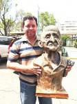 Obras de arte: America : Honduras : Francisco Morazan : Tegucigalpa : Cipriano Martiniz cacique Tolupan