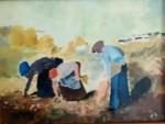 Obras de arte:  : España : Castilla_La_Mancha_Toledo : Talavera_de_la_Reina : Espigadoras