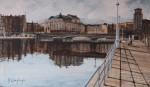 Obras de arte: Europa : España : Euskadi_Bizkaia : Bilbao : CONTRALUZ RIA DE BILBAO