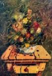 Obras de arte: America : Colombia : Antioquia : Medellin : Bodegón Con Insecto