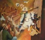 Obras de arte: America : Colombia : Antioquia : Medellin : Romance de Don Quijote y los Molinos