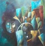 Obras de arte: Europa : Alemania : Nordrhein-Westfalen : Soest : claro de luna