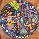 Obras de arte: America : Uruguay : Montevideo : Montevideo_ciudad : La Emperatriz, La Papisa y La Colgada