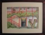 Obras de arte: America : Colombia : Antioquia : Envigado : Casa con flores