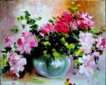 Obras de arte:  : España : Andalucía_Granada : Granada_ciudad : Pinceladas florales