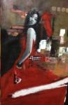 Obras de arte: America : México : Morelos : cuernavaca : Ella de noche