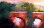 Obras de arte:  : Estados_Unidos : Nevada : Las_Vegas : Puente con tren.