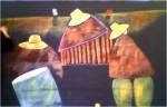 Obras de arte:  : Estados_Unidos : Nevada : Las_Vegas : Figuras indigenas con instrumentos.