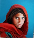 Obras de arte: Europa : España : Comunidad_Valenciana_Alicante : denia : Muchacha Afgana 2