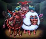 Obras de arte: America : Cuba : Ciudad_de_La_Habana :  : Ridículo drama sicológico (2)