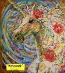 """Obras de arte:  : España : Andalucía_Granada : Granada_ciudad : OBRA: """"UNICORNIO"""""""