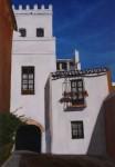 Obras de arte: Europa : España : Andalucía_Sevilla : Sevilla-ciudad : Callejon del agua, Sevilla