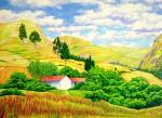 Obras de arte:  : Ecuador : Manabi :  : Casas en el Páramo