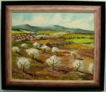 Obras de arte: Europa : España : Aragón_Huesca : BARBASTRO : Almendros en flor