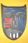 Obras de arte:  : Uruguay : Montevideo :  : African Mask