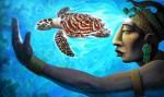 Obras de arte: America : México : Quintana_Roo : cancun : Visión oceanica
