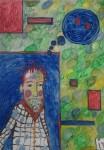 "Obras de arte: Europa : España : Catalunya_Barcelona :  : "" jo , una mica punky """