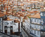 Obras de arte: Europa : España : Euskadi_Bizkaia : Bilbao : BARRIO EN OPORTO