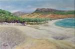 Obras de arte: Europa : España : Andalucía_Cádiz : San_Fernando : Playa de Bolonia