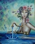 Obras de arte: Europa : España : Comunidad_Valenciana_Castellón : castellon_ciudad : Fluyendo