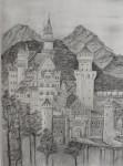 Obras de arte: America : Colombia : Antioquia : Envigado : Castillo de Neuschwanstein