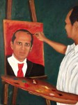 Obras de arte: America : Colombia : Antioquia : Envigado : Autoretrato