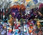 Obras de arte: Europa : España : Madrid : Madrid_ciudad : EN EL PASEO DEL PRADO, CUPIDO HA FRACASADO