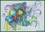 Obras de arte:  : Argentina : Buenos_Aires : ALMAGRO : Marzo y vos