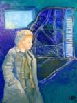 Obras de arte:  : España : Catalunya_Barcelona : Martorell : the broken piano, oil on canvas 100x81 cms