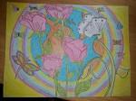 Obras de arte:  : España : Madrid : fuenlabrada : Floreciendo con el Ser