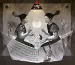 Obras de arte: America : Honduras : Choluteca : Choluteca_ciudad : Viaje cósmico