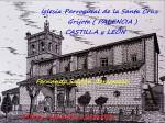 Obras de arte:  : España : Castilla_y_León_Palencia : palencia : IGLESIA DE SANTA CRUZ