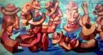 Obras de arte: America : Colombia : Antioquia : Medellin_ciudad : PUEBLO Y TRADICION