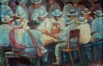 Obras de arte: America : Colombia : Antioquia : Medellin_ciudad : MEETING OF THE COMPANIONS