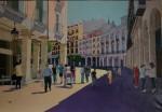 Obras de arte: Europa : España : Castilla_y_León_Burgos : burgos : SOMBRERERIA Y PLAZA MAYO (BURGOS)